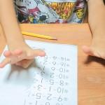 手を使って計算する子にどう対処するか